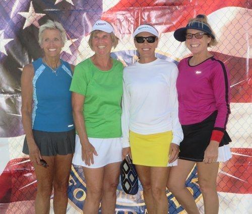 womens doubles winners