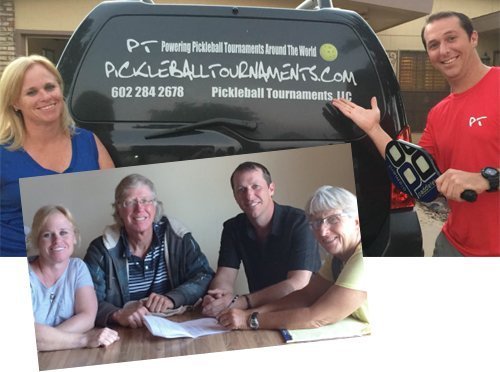 pickleball tournaments owners