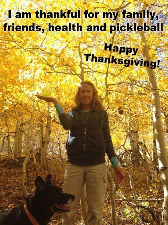 pickleball thanksgiving