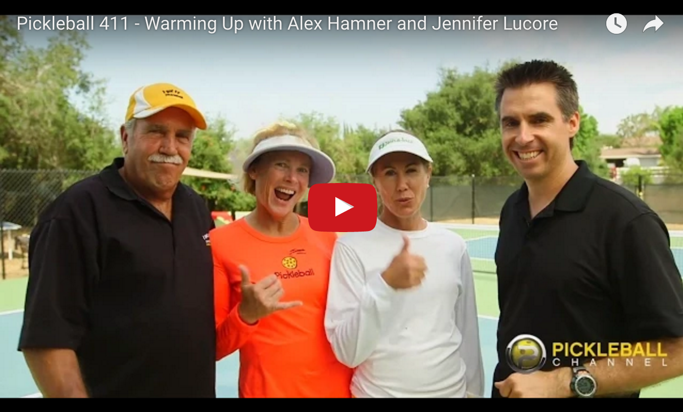 Pickleball Warm Up Video