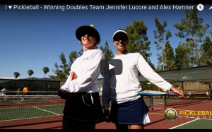 Jennifer Lucore and Alex Hamner