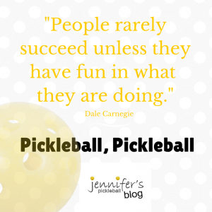Pickleball Inspiration