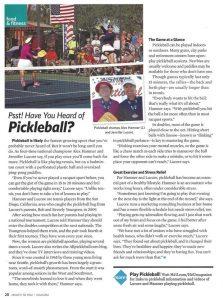 H2U pickleball story