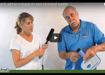 Overgrip on Pickleball Paddle