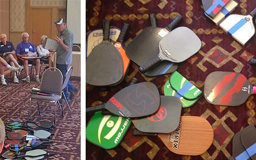 Pickleball paddle approval