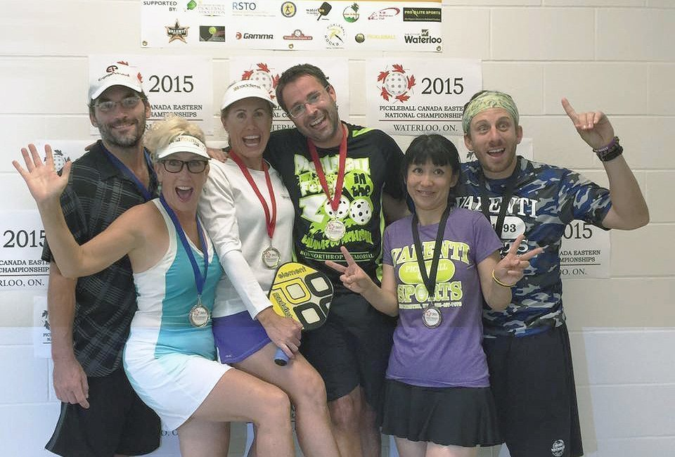 Fun in Mixed Doubles Age
