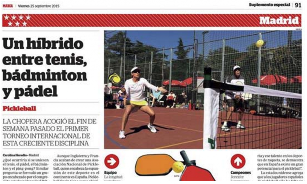 International Pickleball Tournament Spain