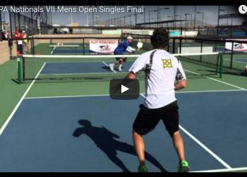 USAPA Nationals VII Mens Open Singles