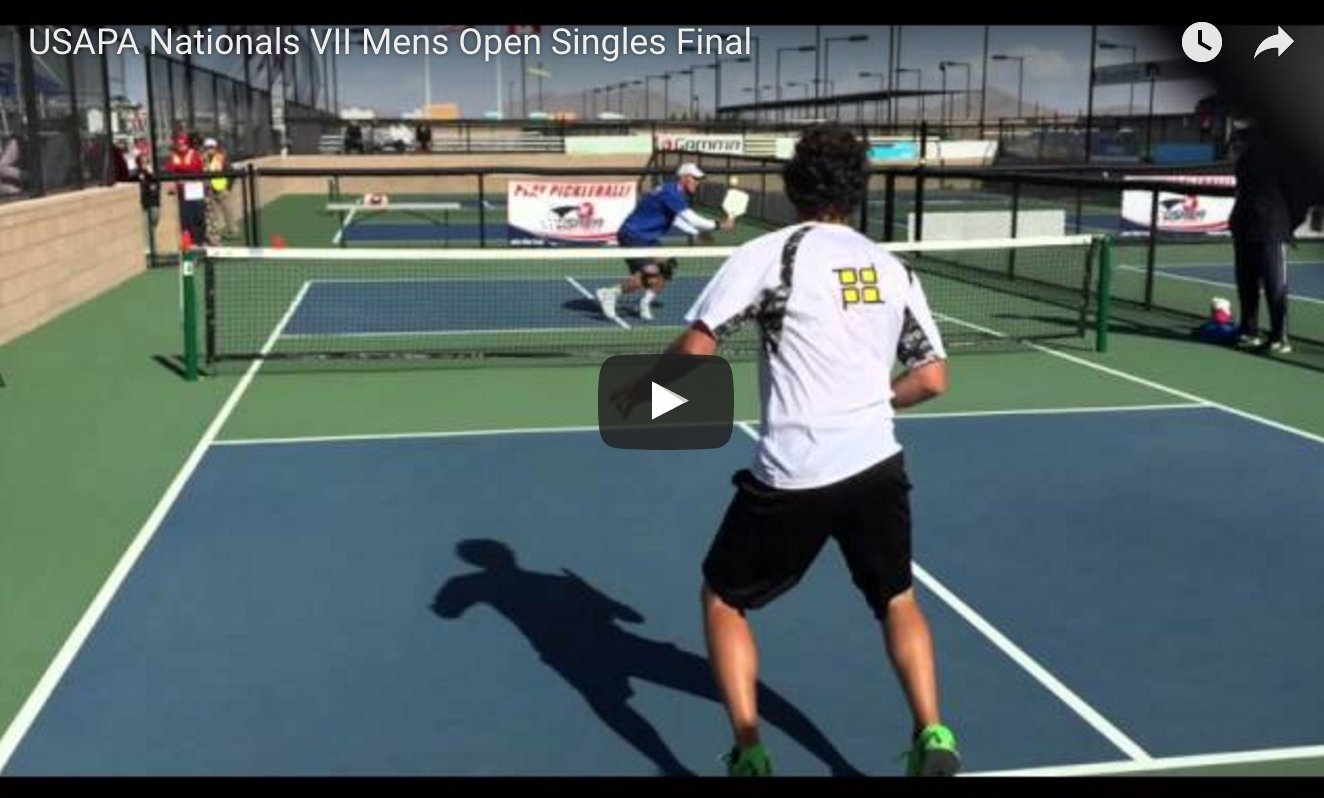 USAPA Nationals VII Mens Open Singles
