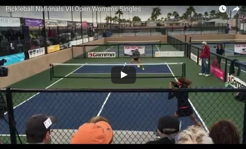 USAPA Nationals Open Women Singles