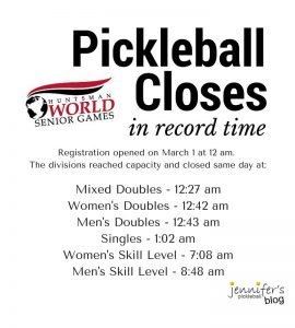Huntsman World Pickleball