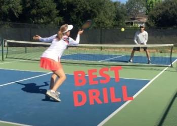 best pickleball drill