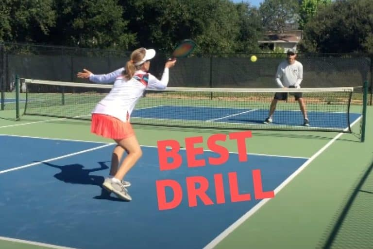 best pickleball drill